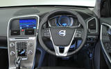 Volvo XC60 D4 dashboard