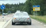 Volvo P1800 prototype spyshot rear