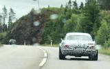 Volvo P1800 prototype spyshot rear far