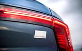 Volvo S90 T8 badge