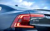 Volvo S90 T8 rearlight