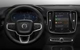 2020 Volvo XC40 Recharge - infotainment