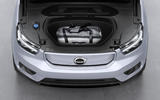 2020 Volvo XC40 Recharge - front luggage space