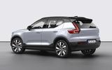 2020 Volvo XC40 Recharge - rear