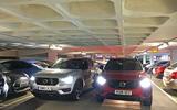 Volvo XC40 long term review - car park