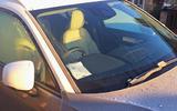 Volvo XC40 long term review - windscreen