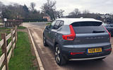 Volvo XC40 2018 long-term review - parking