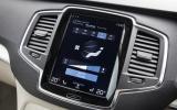 Volvo XC90 infotainment