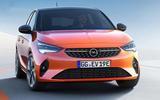 Vauxhall eCorsa front leaked photo