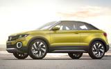 Volkswagen T Cross Breeze concept