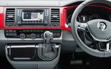 Volkswagen Caravelle Gen 6  dashboard