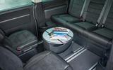Volkswagen Caravelle Gen 6 rear seats
