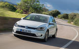 Volkswagen e-Golf cornering