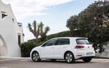 Volkswagen e-Golf rear quarter