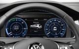 Volkswagen e-Golf instrument cluster