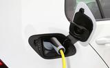 Volkswagen e-Golf charging port