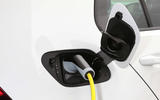 Volkswagen e-Golf charging port