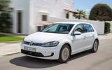 Volkswagen e-Golf front quarter