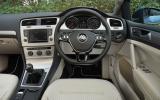 Volkswagen Golf Bluemotion dashboard