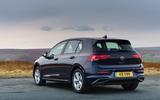 2020 Volkswagen Golf TSI 130 Life - static rear