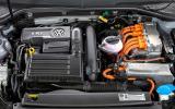1.4-litre Volkswagen Golf GTE petrol engine
