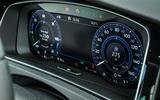 Volkswagen Golf GTE electronic display