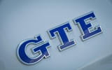 Volkswagen Golf GTE badging