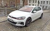 VW Golf GTI longterm review Bruges bridge front