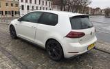 VW Golf GTI longterm review Bruges bridge rear