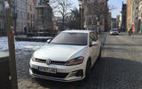 VW Golf GTI longterm review Bruges front