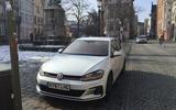 VW Golf GTI longterm review Bruges front