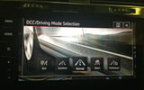 VW Golf GTI longterm review driving mode onscreen
