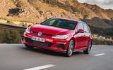 Volkswagen Golf GTI Performance front quarter