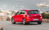 Volkswagen Golf GTI Performance rear quarter