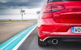 Volkswagen Golf GTI Performance rear light