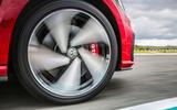 Volkswagen Golf GTI Performance alloy wheels