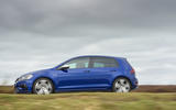 Volkswagen Golf R side profile