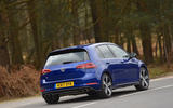 Volkswagen Golf R rear