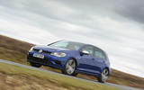 Volkswagen Golf R cornering