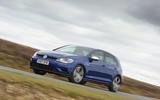 Volkswagen Golf R cornering