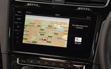 Volkswagen Golf R infotainment system