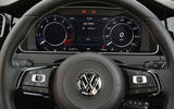 Volkswagen Golf R digital instrument cluster