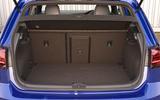 Volkswagen Golf R boot space