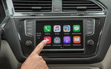 Volkswagen Tiguan CarPlay system