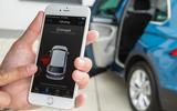 Volkswagen Tiguan controlling app