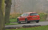 Volkswagen Passat Alltrack 2.0 TDI 4Motion rear view cornering