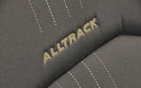 Volkswagen Passat Alltrack 2.0 TDI 4Motion Alltrack badge stitched into seat
