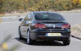 Volkswagen CC Black Edition rear