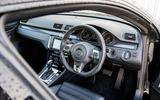 Volkswagen CC Black Edition interior