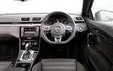 Volkswagen CC Black Edition dashboard